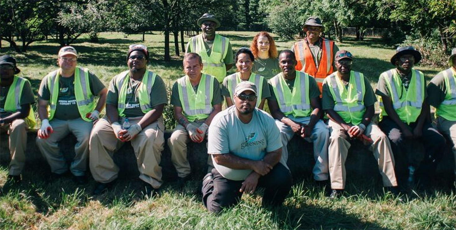 Detroit conservation Corps - Greening of Detroit